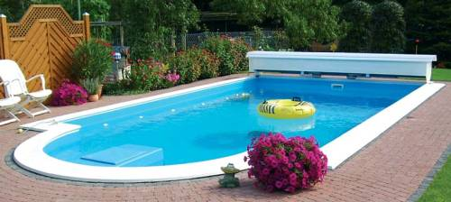 Styropor-Pools