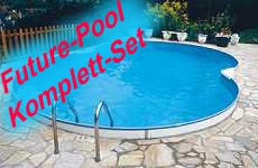 Stahlwandbecken sets future pool family for Stahlwandbecken achtform