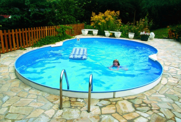 Achtformbecken Future-Pool FAMILY Standard 470x300 cm