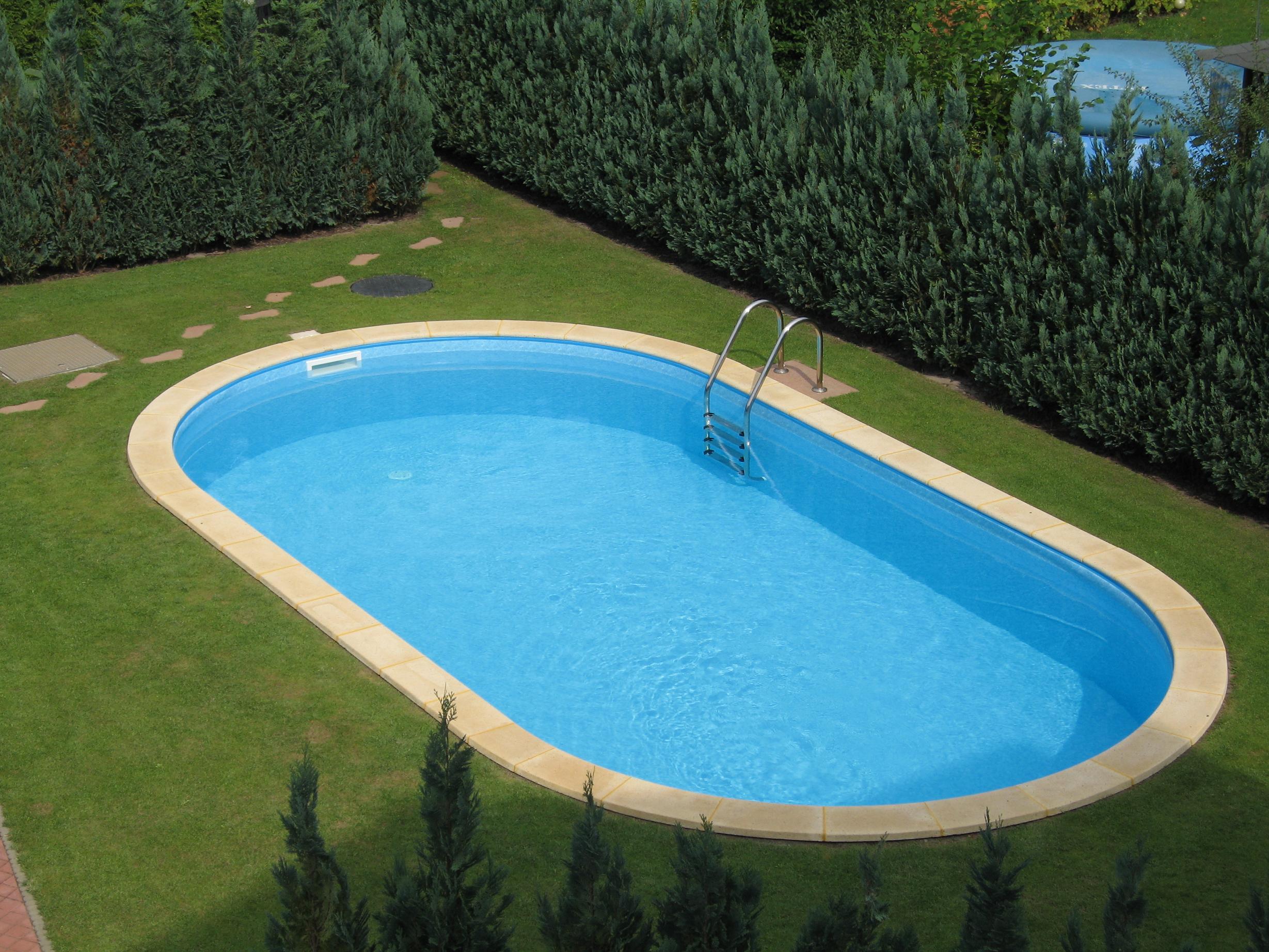 Ovalpool future pool for Folienfarbe pool