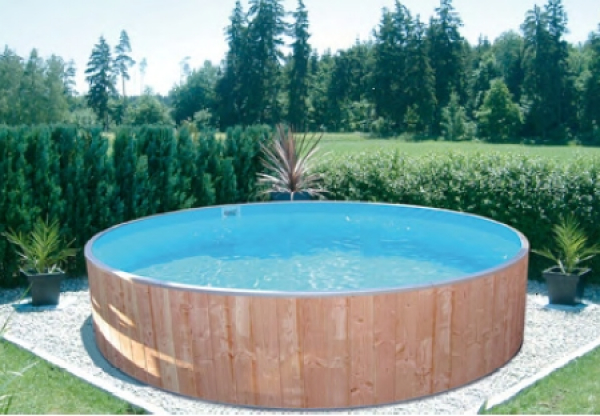 Fun WOOD Pool-Set FUTURE-POOL